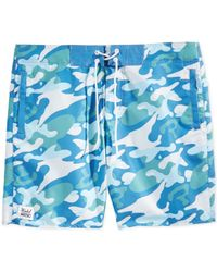 Wesc | Green Warhol Camo Swim Trunks for Men | Lyst