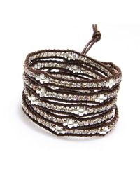 Nakamol | Multicolor Honeycomb Wrap Bracelet-smokey Quartz | Lyst