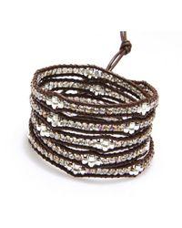 Nakamol   Multicolor Honeycomb Wrap Bracelet-smokey Quartz   Lyst