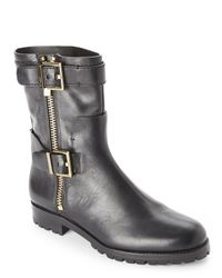 Aerin - Black Lacy Short Boots - Lyst