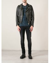 DIESEL - Black Lseddick Jacket for Men - Lyst