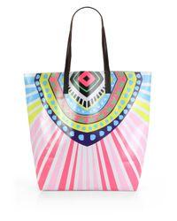 Mara Hoffman   Pink Rays Vinyl Bag   Lyst