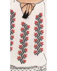 Ulla Johnson - Natural Samira Embroidered Dress - Lyst