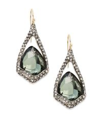Alexis Bittar | Metallic Miss Havisham Quartz & Hematite Doublet Drop Earrings | Lyst
