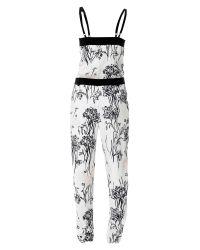 Sinequanone - Multicolor Summer Floral Jumpsuit - Lyst