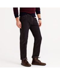 J.Crew | Gray Vintage Cord in Straight Fit for Men | Lyst