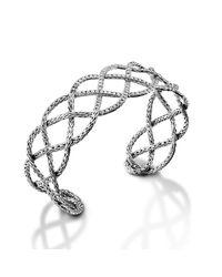 John Hardy | Metallic Woven Braided Cuff | Lyst