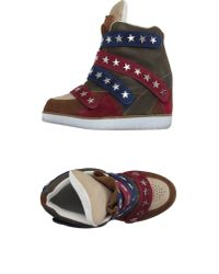 Jeffrey Campbell - Natural High-tops & Trainers - Lyst