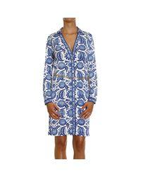 MICHAEL Michael Kors | Blue Dress | Lyst