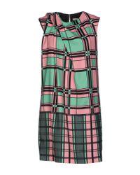 Emma Cook - Green Short Dress - Lyst
