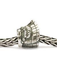Trollbeads   Metallic Celtic Kilt Silver Charm Bead   Lyst