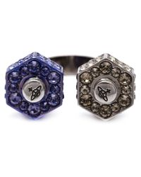 Vivienne Westwood - Blue 'jolene' Ring - Lyst