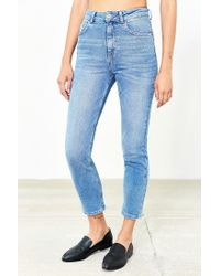 BDG - Blue Girlfriend High-rise Jean - Light Wash - Lyst