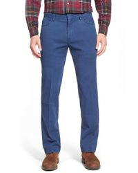 Peter Millar | Blue Stretch Cotton Hybrid Pants for Men | Lyst
