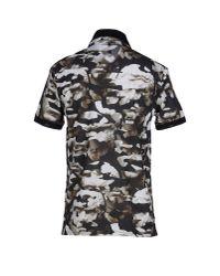 Neil Barrett - Green Polo Shirt for Men - Lyst