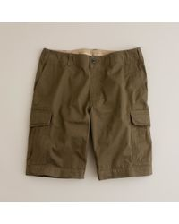 J.Crew | Green Lightweight Brunswick Cargo Short for Men | Lyst