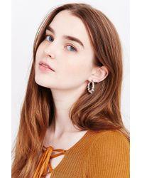 Urban Outfitters - Metallic Sydney Hoop Earring - Lyst