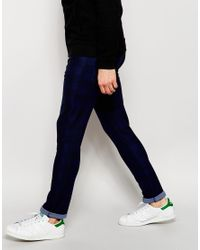 ASOS | Blue Super Skinny Chinos In Bright Check Print for Men | Lyst