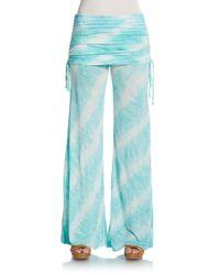 Young Fabulous & Broke | Blue Sierra Wide Leg Pants | Lyst
