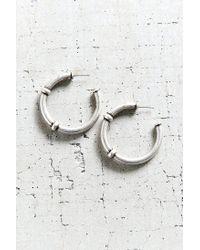 Urban Outfitters | Metallic Carla Hoop Earring | Lyst