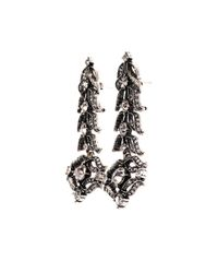 Lulu Frost - Metallic Rococo Statement Drop Earrings - Lyst