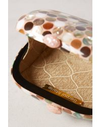Serpui - Multicolor Dotted Mother-Of-Pearl Box Clutch - Lyst