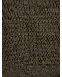 Raf Simons - Green Slogan-Knit Socks for Men - Lyst