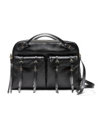 Banana Republic | Black Leather Duffle | Lyst