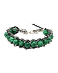 Emanuele Bicocchi - Green Bracelet - Lyst