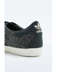 Adidas Originals | Gazelle '70s Black And White Trainers for Men | Lyst