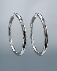 Ippolita | Metallic Glamazon Hoop Earrings | Lyst