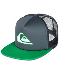 Quiksilver | Gray Snapper Mesh-back Cap for Men | Lyst