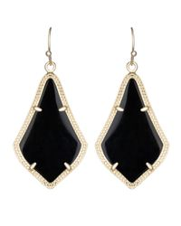 Kendra Scott - Black Alex Earring - Lyst