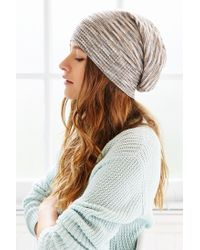 Urban Outfitters - Multicolor Fine Gauge Super Slouch Beanie - Lyst