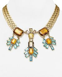 Sam Edelman | Metallic Statement Necklace, 17"