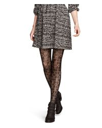 H&M | Black Lace Tights | Lyst