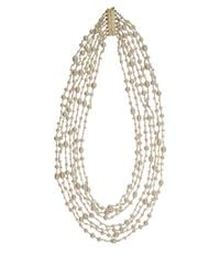 Rosantica | White Pearl Pegaso Necklace | Lyst
