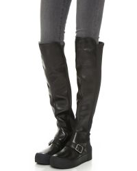 Marc By Marc Jacobs - Thompson Over The Knee Sneaker Boots - Black - Lyst