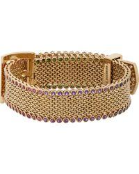 Aurelie Bidermann | Metallic Belt Bracelet | Lyst