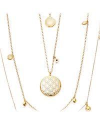 Astley Clarke | Metallic Moonlight Star Mosaic Necklace | Lyst