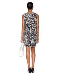 Kate Spade | Black Butterfly Double Layer Dress | Lyst