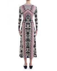 Temperley London | Pink Long Tishka Jersey Dress | Lyst