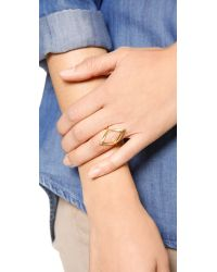 Gorjana - Metallic Roya Ring Gold - Lyst