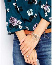 Oasis | Metallic Pearl Heart Friendship Bracelet Pack | Lyst
