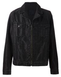 Lanvin | Black Denim Jacket for Men | Lyst