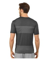 Brooks | Black Streaker Short Sleeve Top for Men | Lyst