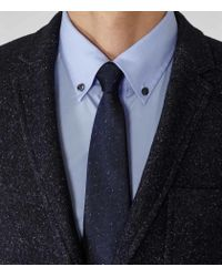 Reiss - Blue Lamb Button-Down Shirt for Men - Lyst