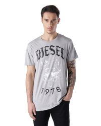 DIESEL - Gray T-roff for Men - Lyst