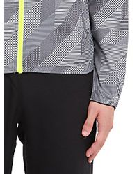 Nike | Gray Packable Nylon Wind Runner Jacket for Men | Lyst