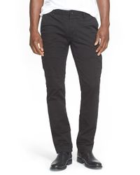 Polo Ralph Lauren | Black Slim Fit Military Pants for Men | Lyst